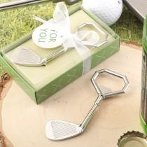 Golf club design metal golf club bottle opener