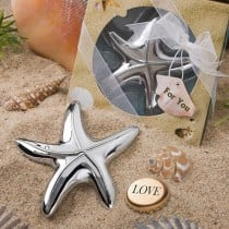 Starfish Design Bottle Opener Favors