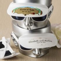 Personalized Collection unique white sunglass and visor combination