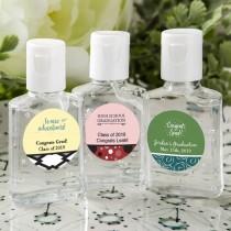 personalized expressions hand sanitizer favors - graduation design