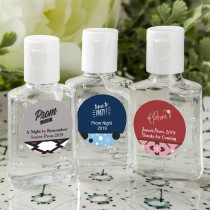 personalized expressions hand sanitizer favors - prom design