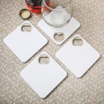 Perfectly plain Coaster / bottle opener from fashioncraft