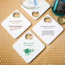 Personalized expressions Coaster / bottle opener - graduation
