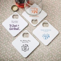 Design your own Coaster / bottle opener from fashioncraft