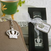 Majestic Crown Key Chain Favor