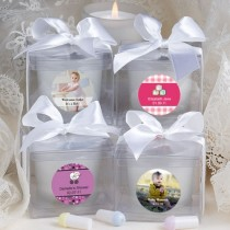 Fashioncraft'S Personalized Expressions  Collection Candle Favors - Baby