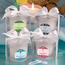 Fashioncraft'S Personalized Expressions  Collection Candle Favors - Baptism