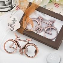 Vintage Bicycle design antique copper color metal bottle opener