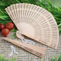 Sandalwood Fan Favors