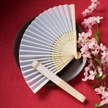 Elegant Silk Fans Favors