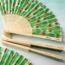 Personalised expressions Pineapple themed Fan (Baby Shower)