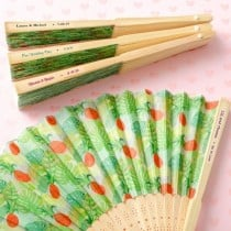 Personalised expressions Pineapple themed Fan