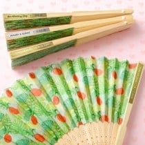 Personalized Metallics collection Pineapple themed Fan