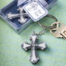 Cross Design Keychain Favors