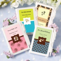 Personalized Notebook Favors - Baby Shower