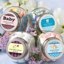 Personalized Glass Jar - Baby Shower