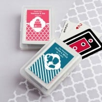 Simply Stylish Playing Card Favors for Wedding