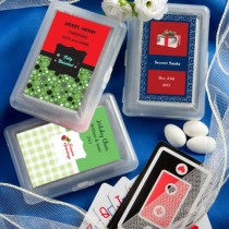 Design Your Own Collection Playing Card Favors - Holiday Themed
