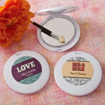 personalized compact mirror from fashioncraft - Marquee design