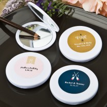 Monogram Collection compact mirror