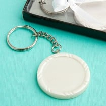 Perfectly Plain Collection Key Ring Favors