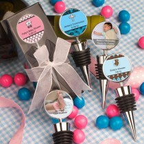 Personalized Expressions Collection Wine Bottle Stopper Favors (Baby)