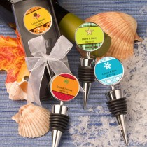 Personalized Expressions Collection Wine Bottle Stopper Favors (Fall)