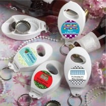 Design Your Own Collection Bottle Opener/Key Chain  Favors - Holiday Themed