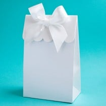 "White ""Delivered With Love"" Boxes From The Perfectly Plain Collection"