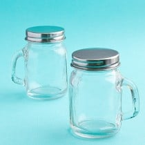 Perfectly Plain Collection Glass Mason Jars