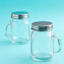 Perfectly Plain Collection Glass Mason Jars