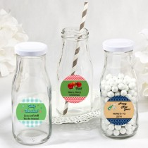 Design Your Own Collection vintage style milk bottles - Holiday Themed