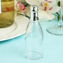 Clear Plastic  Champagne Bottle  Box From The Perfectly Plain
