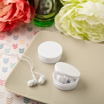 Perfectly Plain ear bud headphones from fashioncraft
