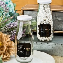 Sayings collection 'Best Day Ever' Vintage milk bottle