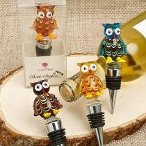 Murano Glass Owl Bottle Stoppers from Gifts By Fashioncraft