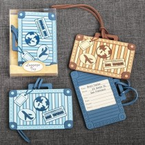 Suitcase Design Luggage Tag - 2 assorted - from gifts by fashioncraft
