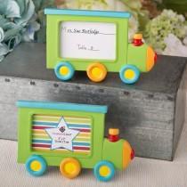 Little Locomotive engine photo frame / placecard holder from fashioncraft