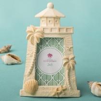 Beach themed Light house design placecard frame