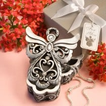 Angel Design Curio  Box From The Heavenly Favors Collection