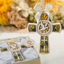 Holy Natures Harvest Themed Cross Ornament from Fashioncraft