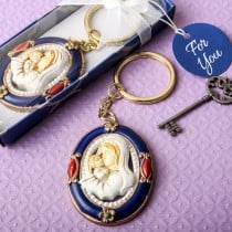 Madonna and Child keychain from fashioncraft