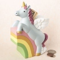 Adorable Unicorn bank from gifts by fashioncraft