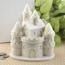 Fairytale Castle bank from gifts by fashioncraft