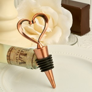 """Vintage """"One Love, One Heart"""" Bottle Stoppers"""
