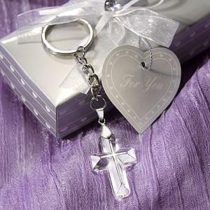 Choice Crystal Cross Key Chains