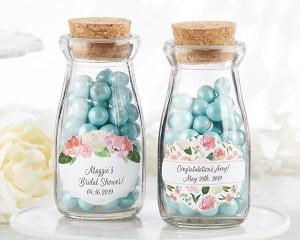 Personalized Milk Jar - Bridal Brunch (Set of 12)