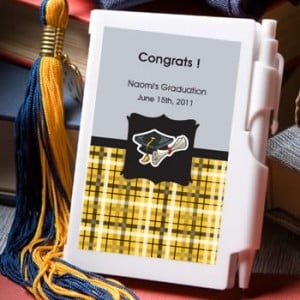 Personalized Notebook Favors - Graduation