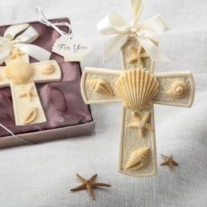 Sea themed Cross ornament