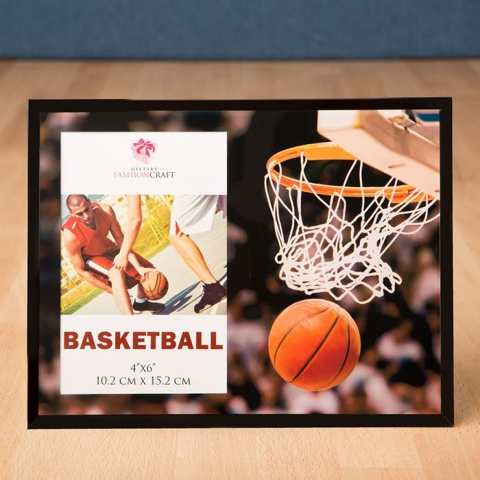 Magnificent basketball frame 4 x 6 from